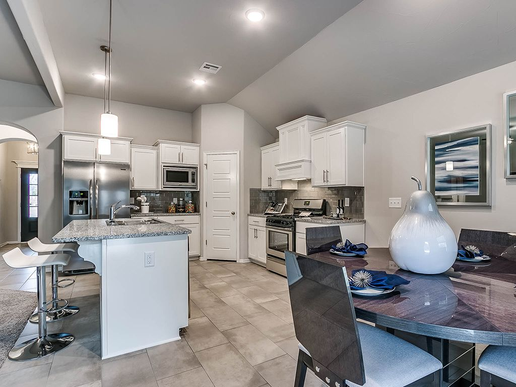Kitchen featured in the Delaney By Simmons Homes Inc. in Tulsa, OK