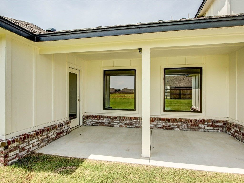 Exterior featured in the Maxwell By Simmons Homes Inc. in Tulsa, OK