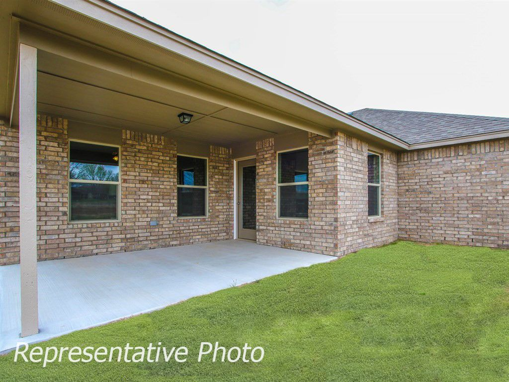 Exterior featured in the Harper By Simmons Homes Inc. in Tulsa, OK