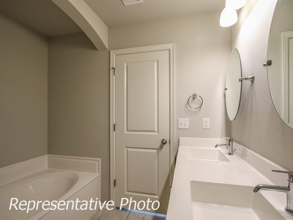Bathroom featured in the Harper By Simmons Homes Inc. in Tulsa, OK