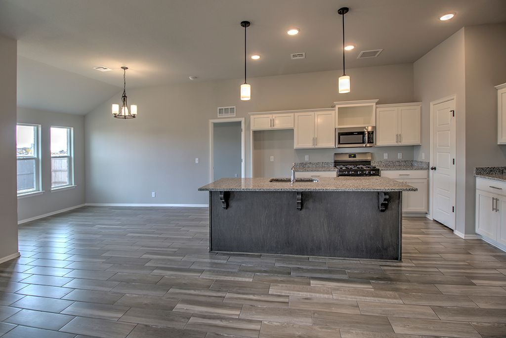 Kitchen featured in the Owen By Simmons Homes Inc. in Tulsa, OK
