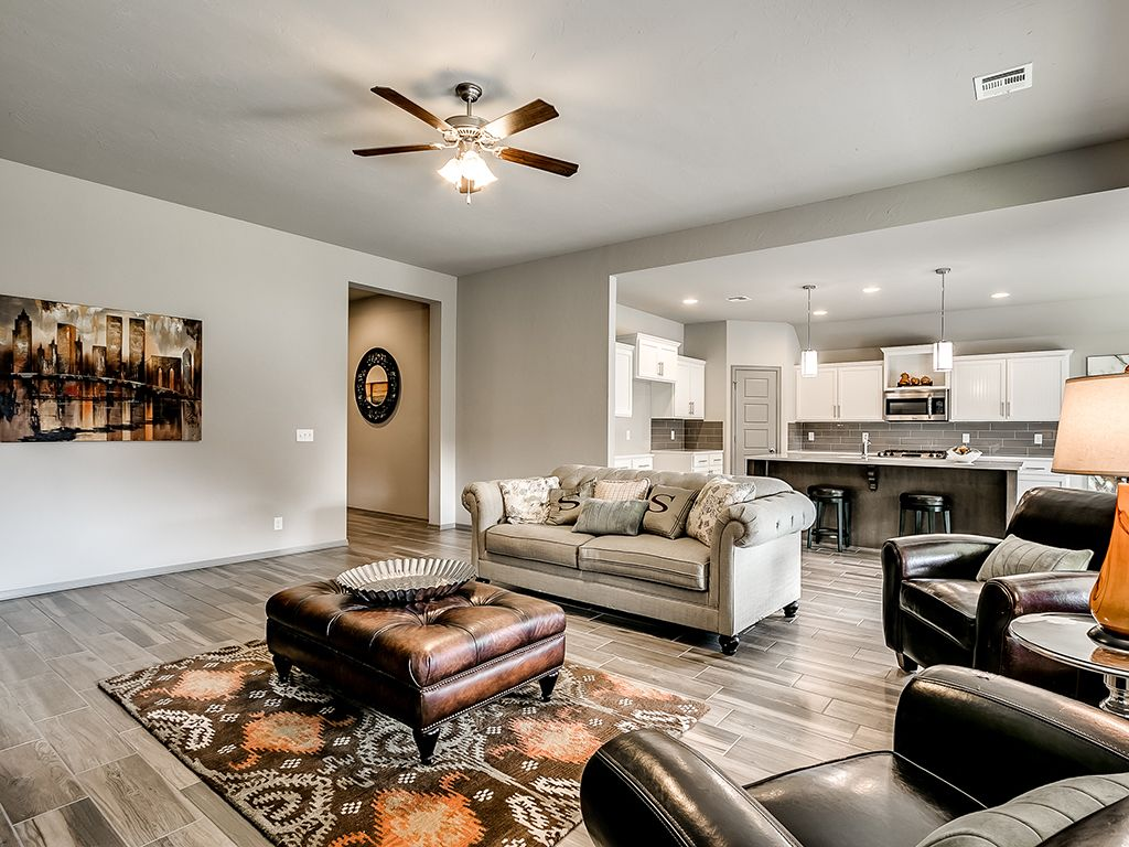 Living Area featured in the Pierson By Simmons Homes in Tulsa, OK