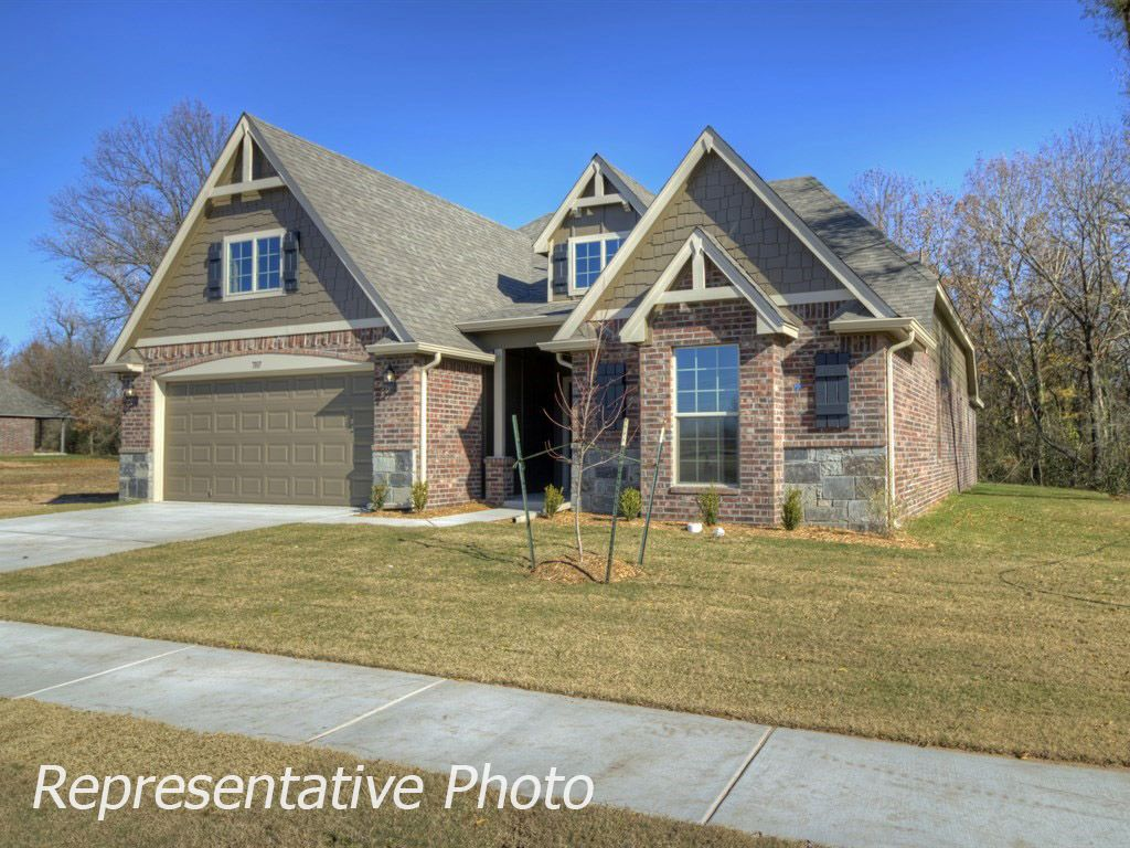 Exterior featured in the Sadie By Simmons Homes Inc. in Tulsa, OK