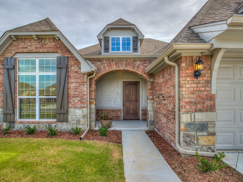 Exterior featured in the Bryson By Simmons Homes Inc. in Tulsa, OK