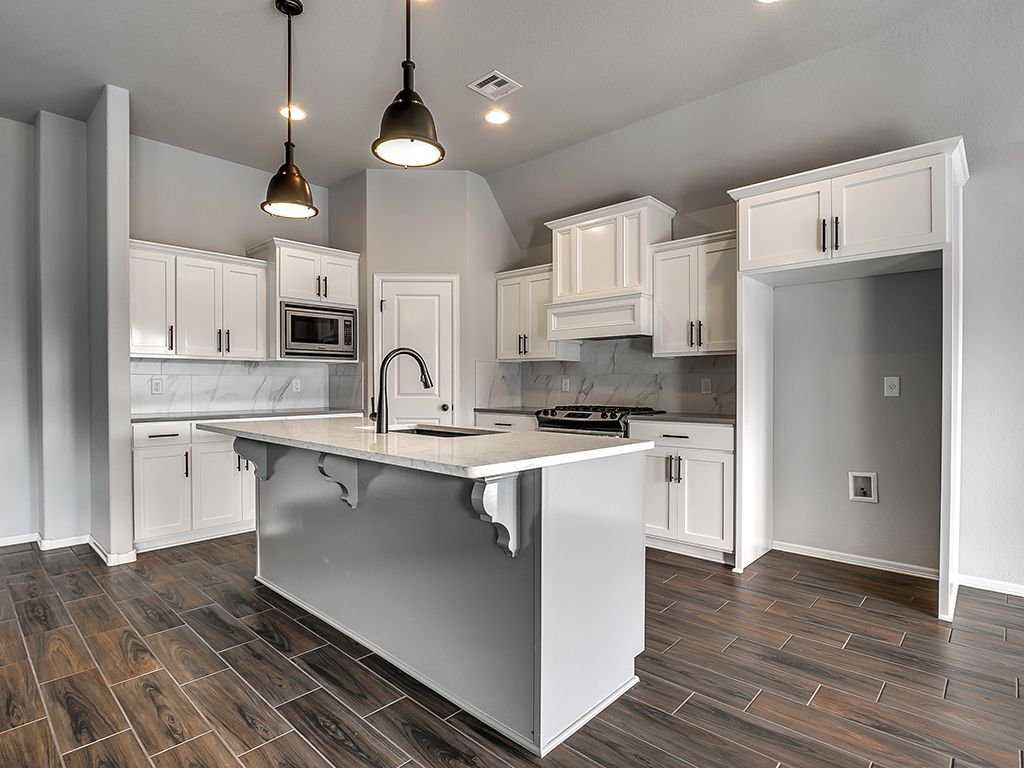 Kitchen featured in the Bryson By Simmons Homes Inc. in Tulsa, OK