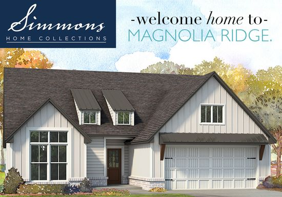 Magnolia Ridge by Simmons Homes Inc. in Tulsa Oklahoma