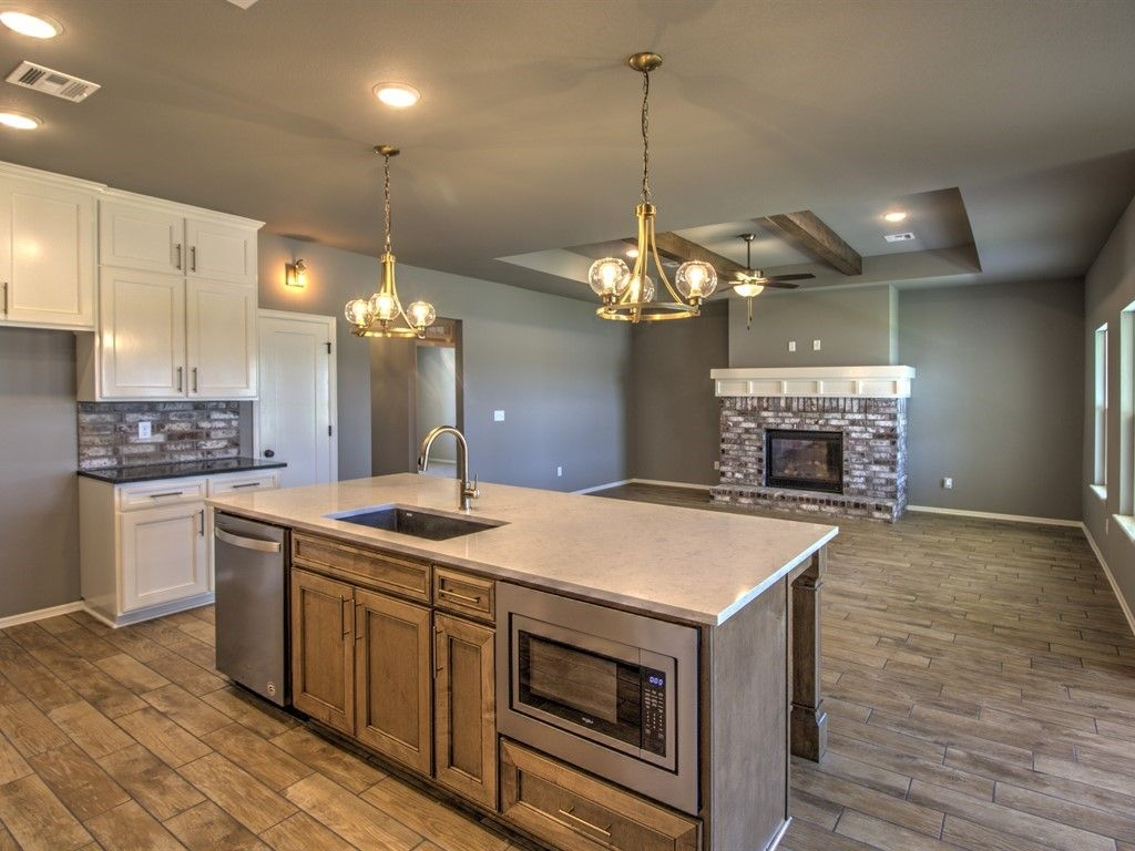 Kitchen featured in the Washita By Simmons Homes Inc. in Tulsa, OK