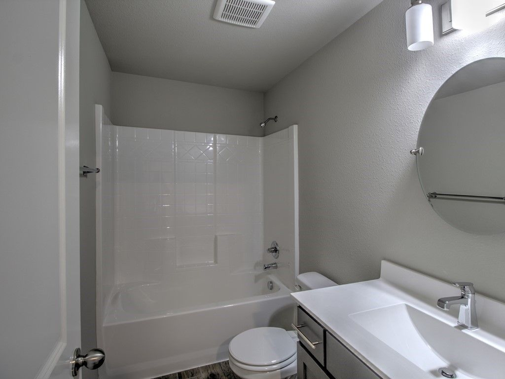Bathroom featured in the Drake By Simmons Homes Inc. in Tulsa, OK