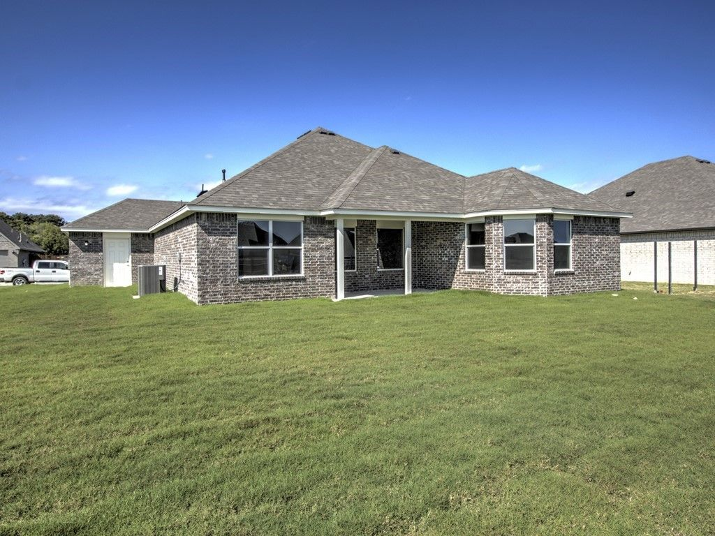Exterior featured in the Drake By Simmons Homes Inc. in Tulsa, OK