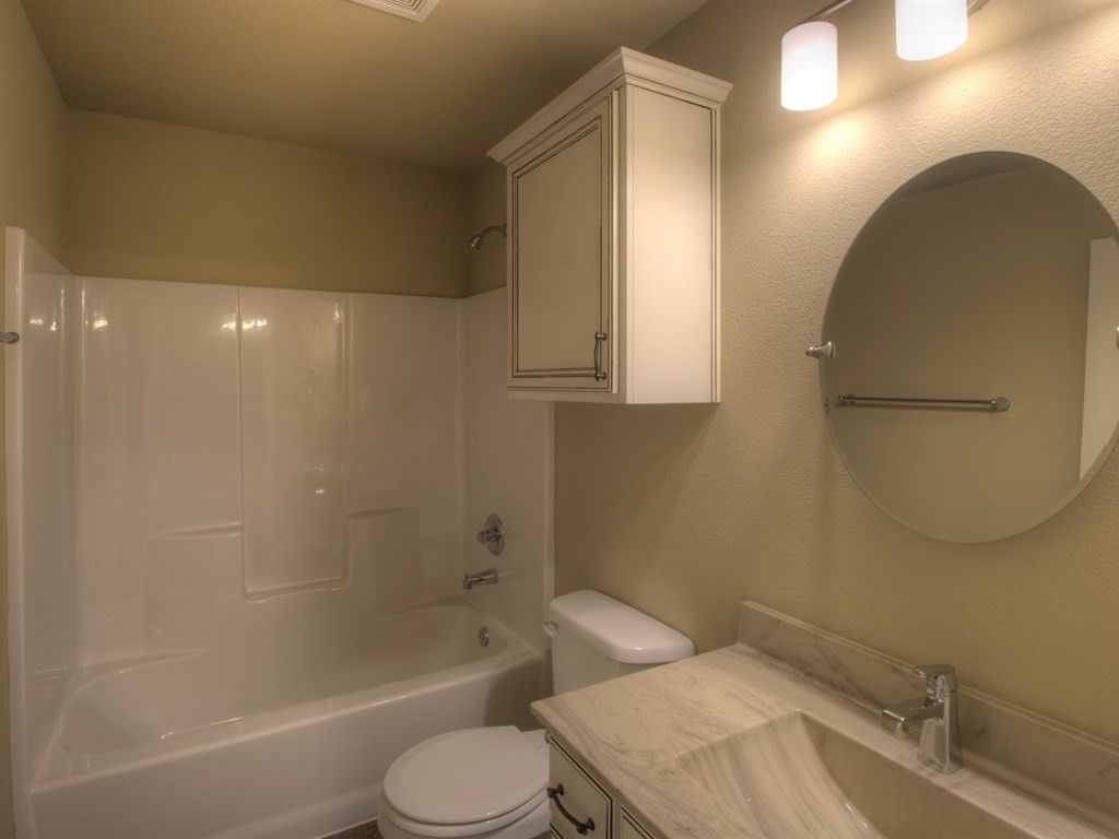 Bathroom featured in the Beckett By Simmons Homes Inc. in Tulsa, OK