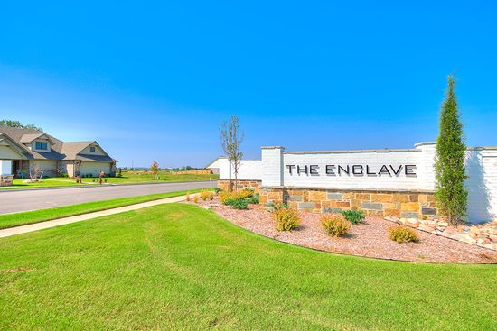 Enclave at Addison Creek by Simmons Homes Inc. in Tulsa Oklahoma