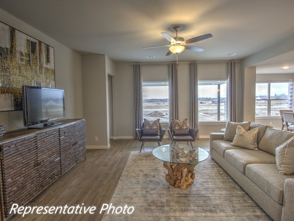 Living Area featured in the Yorkshire By Simmons Homes Inc. in Tulsa, OK