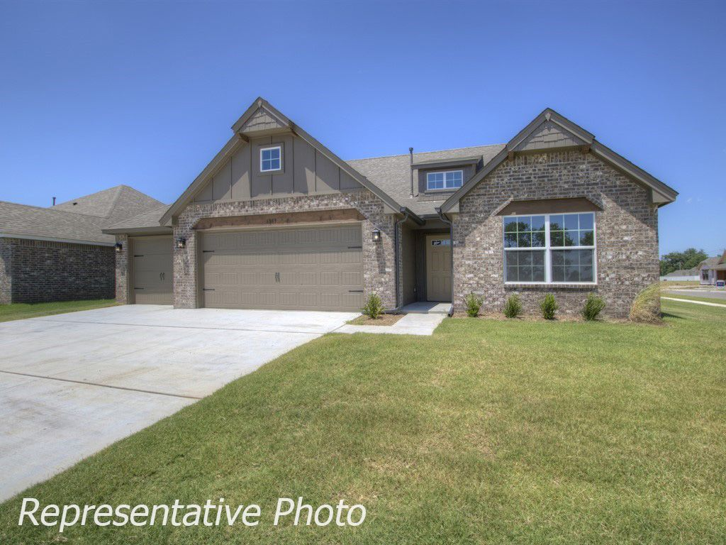 Exterior featured in the McLemore By Simmons Homes Inc. in Tulsa, OK