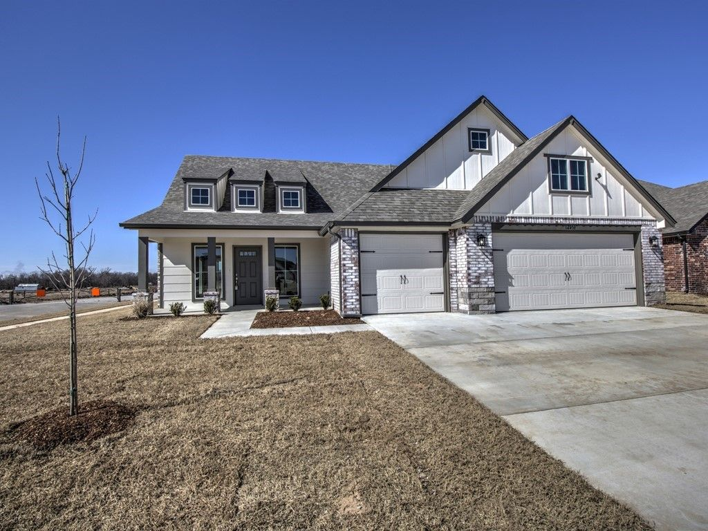 Exterior featured in the Sedona By Simmons Homes Inc. in Tulsa, OK