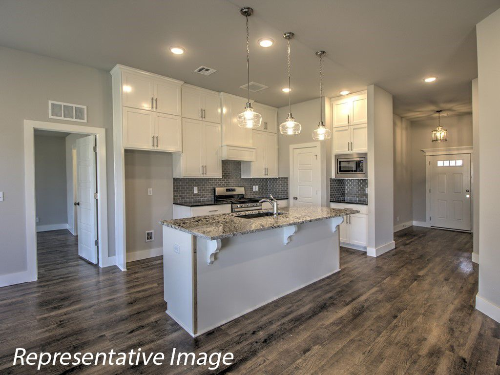 Kitchen featured in the Guthrie By Simmons Homes Inc. in Tulsa, OK