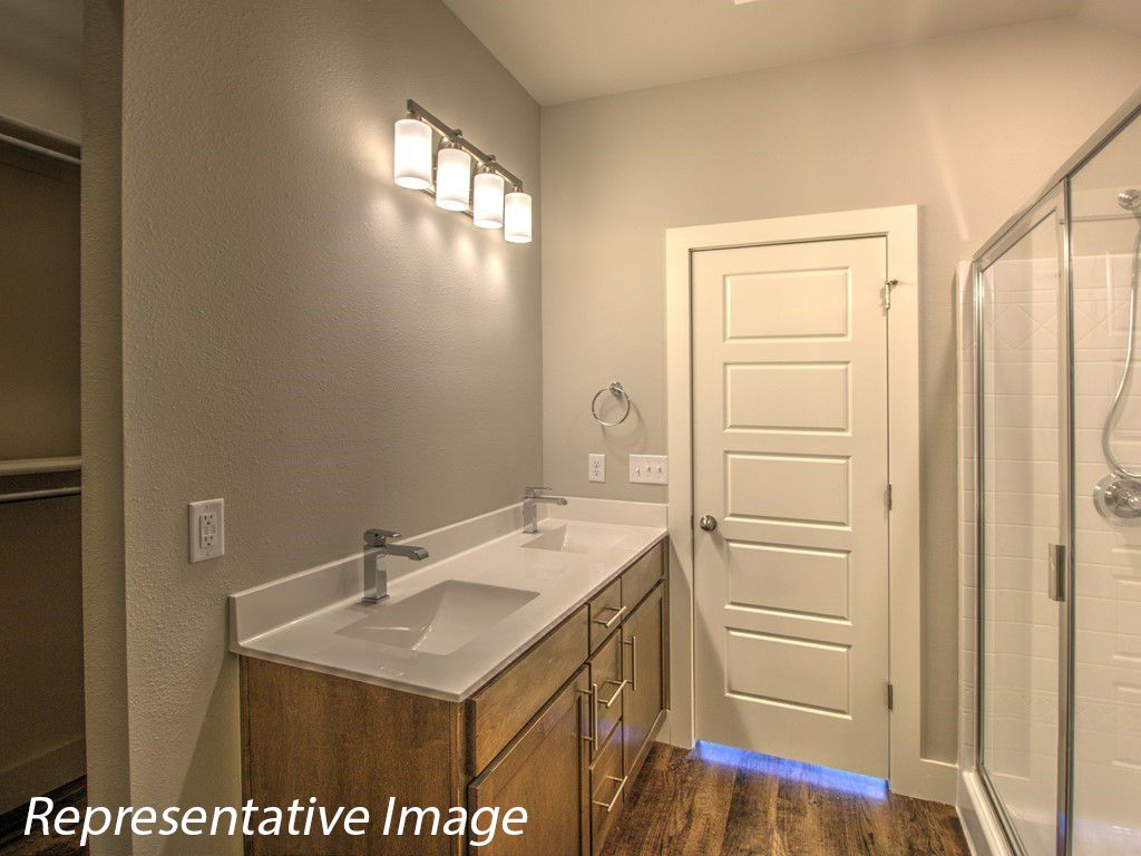 Bathroom featured in the Guthrie By Simmons Homes Inc. in Tulsa, OK