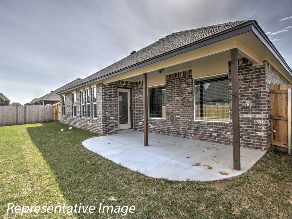Exterior featured in the Guthrie By Simmons Homes Inc. in Tulsa, OK