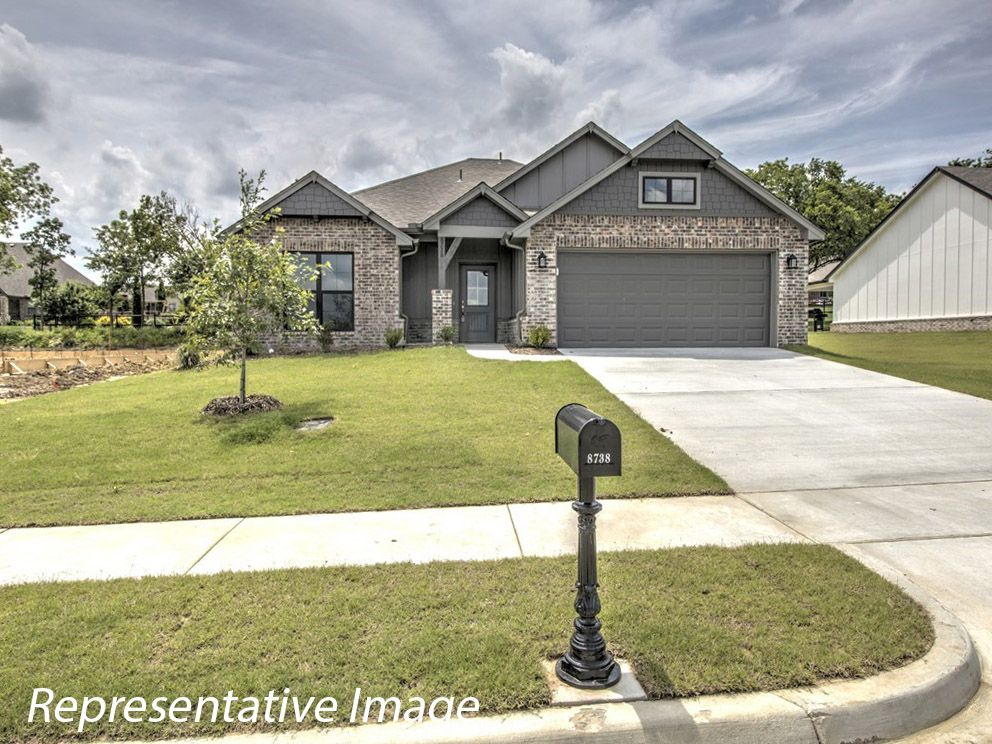 Exterior featured in the Sawyer By Simmons Homes Inc. in Tulsa, OK