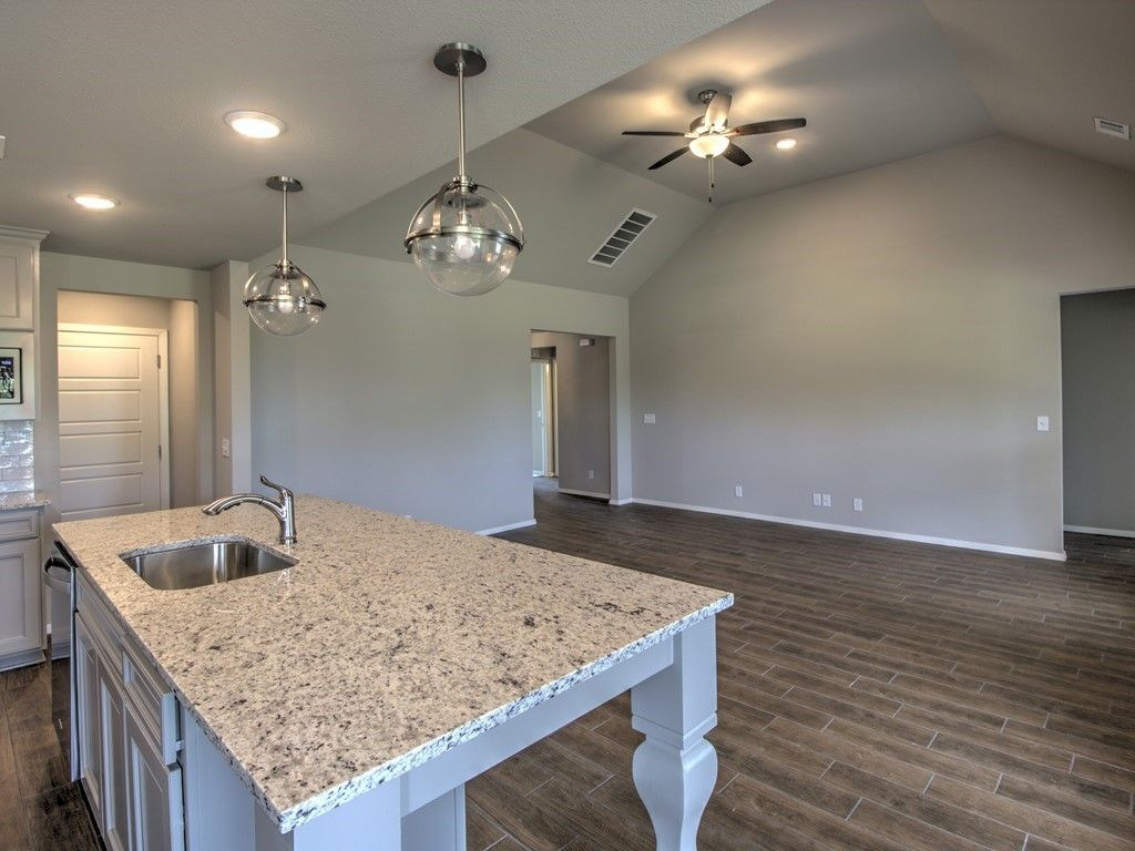Kitchen featured in the Magnolia By Simmons Homes Inc. in Tulsa, OK
