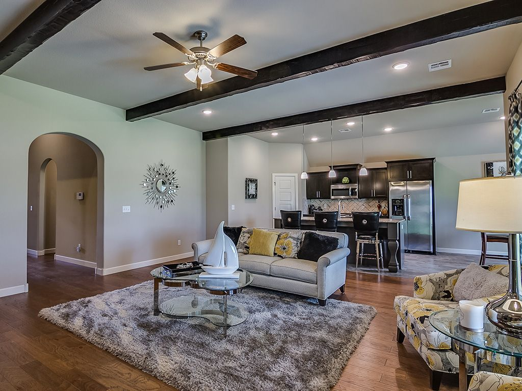 Living Area featured in the Bailey By Simmons Homes Inc. in Tulsa, OK