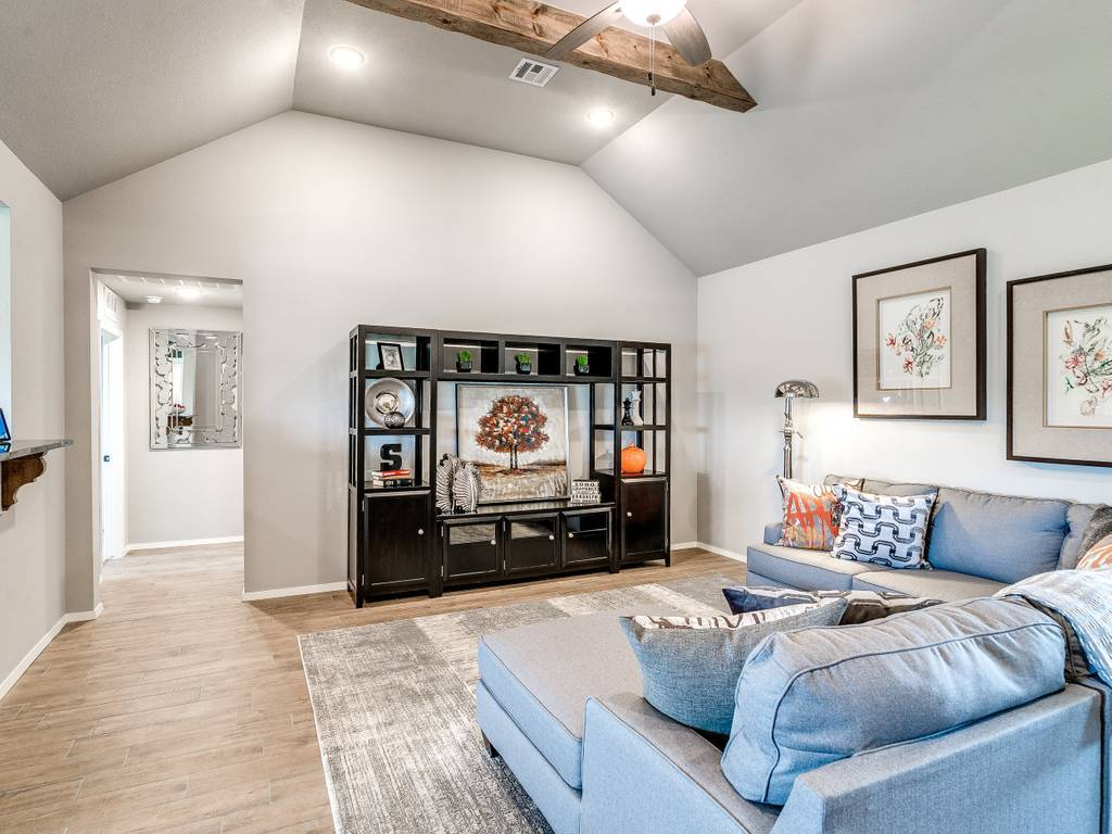 Living Area featured in the McLemore By Simmons Homes Inc. in Tulsa, OK