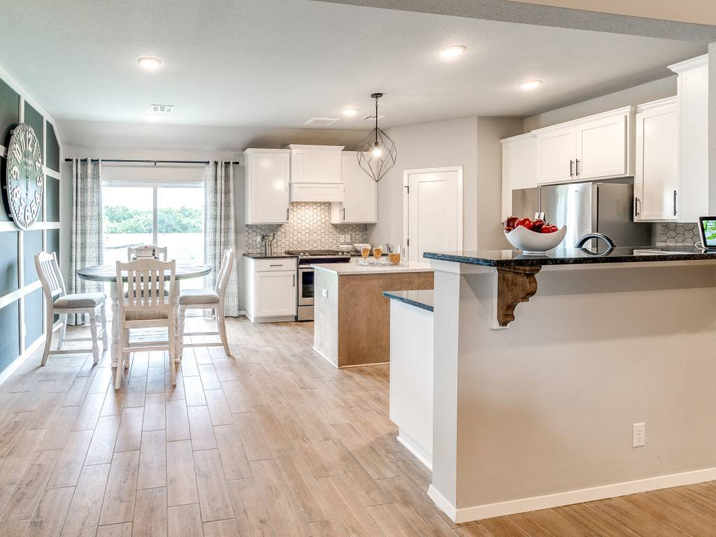 Kitchen featured in the McLemore By Simmons Homes Inc. in Tulsa, OK