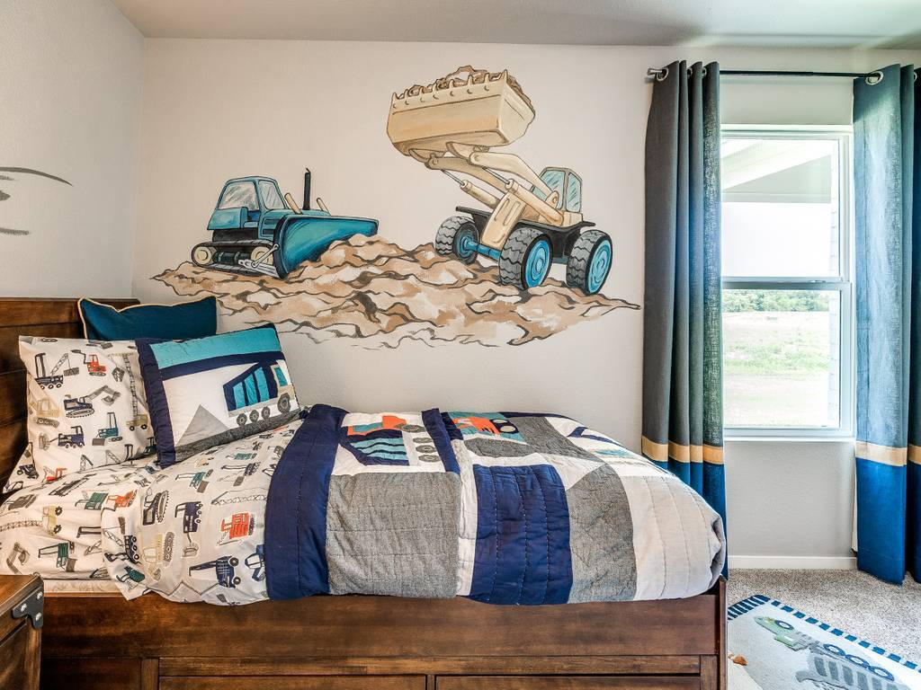Bedroom featured in the McLemore By Simmons Homes Inc. in Tulsa, OK