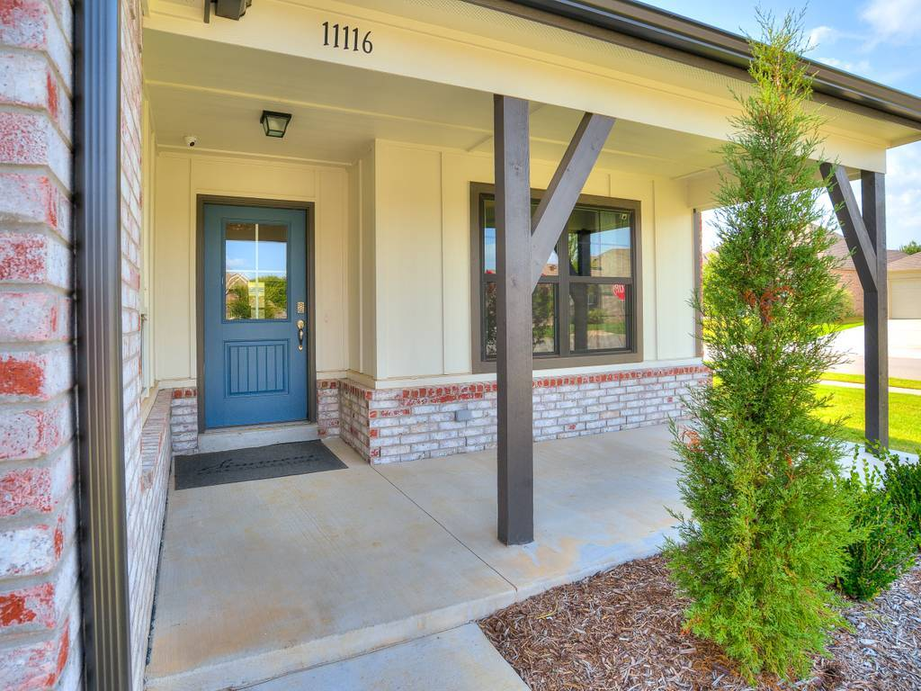 Exterior featured in the Washita By Simmons Homes Inc. in Tulsa, OK
