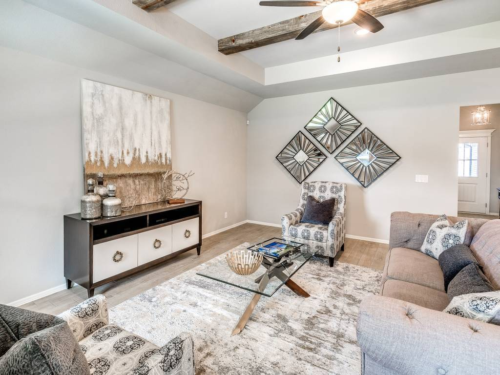 Living Area featured in the Washita By Simmons Homes Inc. in Tulsa, OK