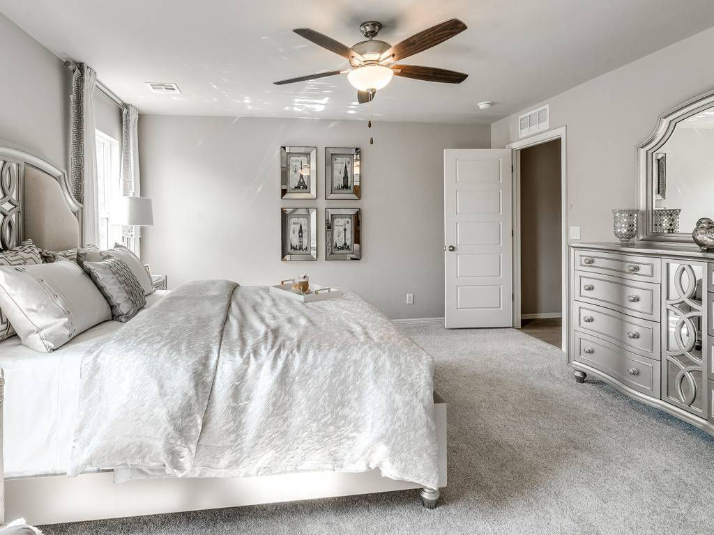 Bedroom featured in the Washita By Simmons Homes Inc. in Tulsa, OK