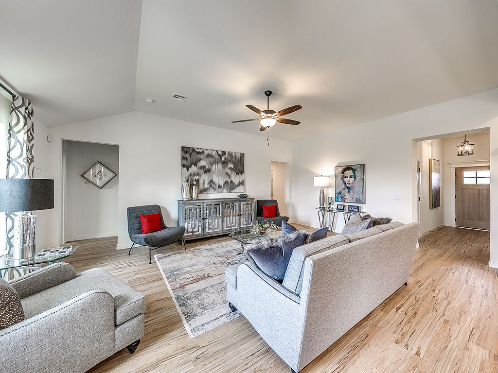 Living Area featured in the Delaney By Simmons Homes Inc. in Tulsa, OK