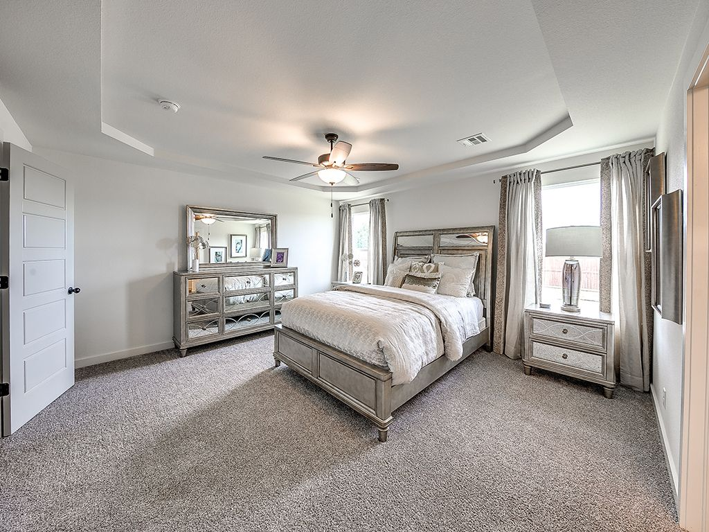 Bedroom featured in the Delaney By Simmons Homes Inc. in Tulsa, OK