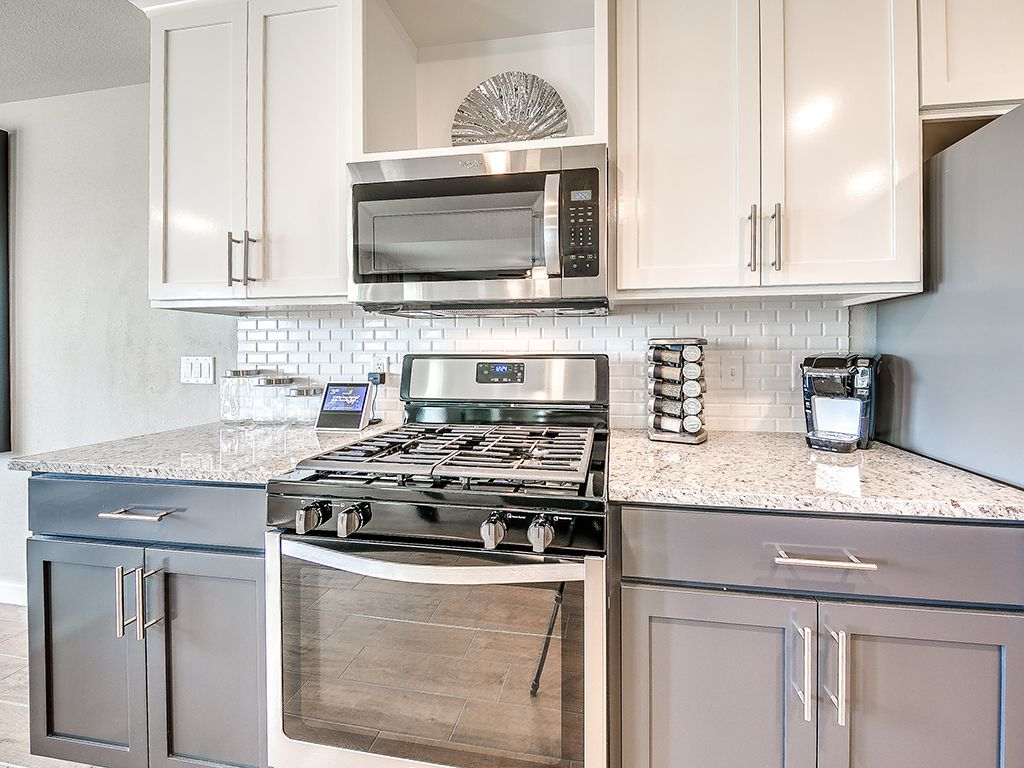 Kitchen featured in the Yorkshire By Simmons Homes Inc. in Tulsa, OK