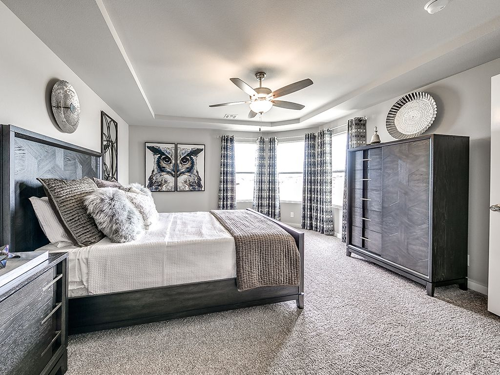 Bedroom featured in the Yorkshire By Simmons Homes Inc. in Tulsa, OK