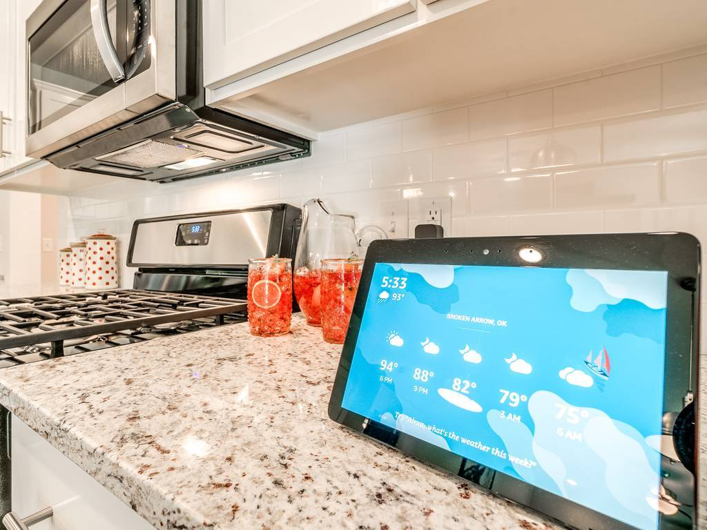 Kitchen featured in the Harper By Simmons Homes Inc. in Tulsa, OK