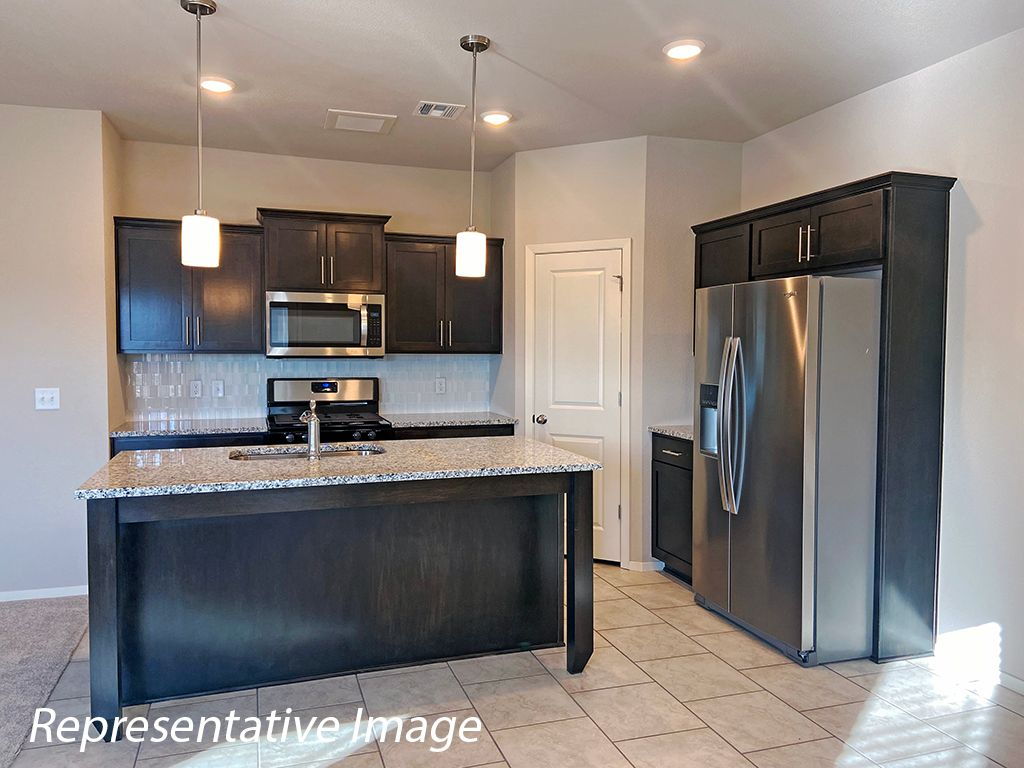 Kitchen featured in the Bentley By Simmons Homes Inc. in Tulsa, OK