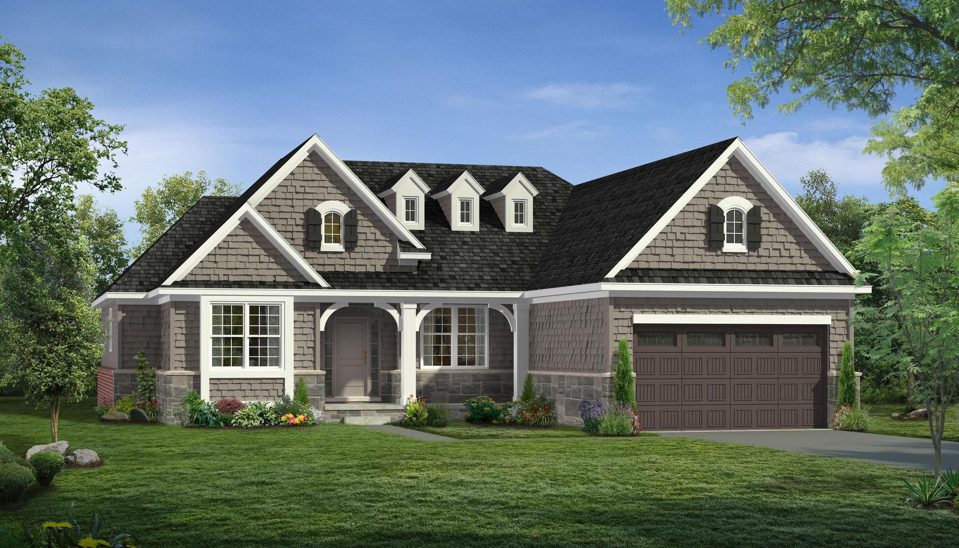 Madison Plan At Charleston Park In South Lyon Mi By Singh Homes