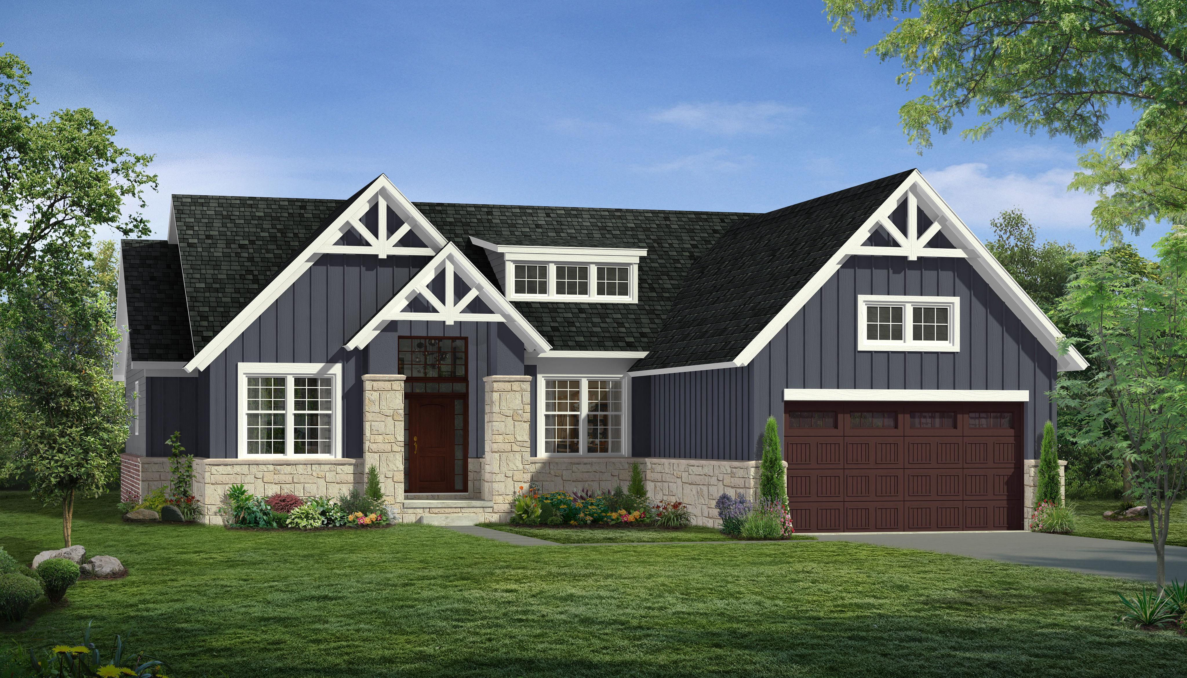 Exterior featured in the Madison By Singh Homes in Detroit, MI
