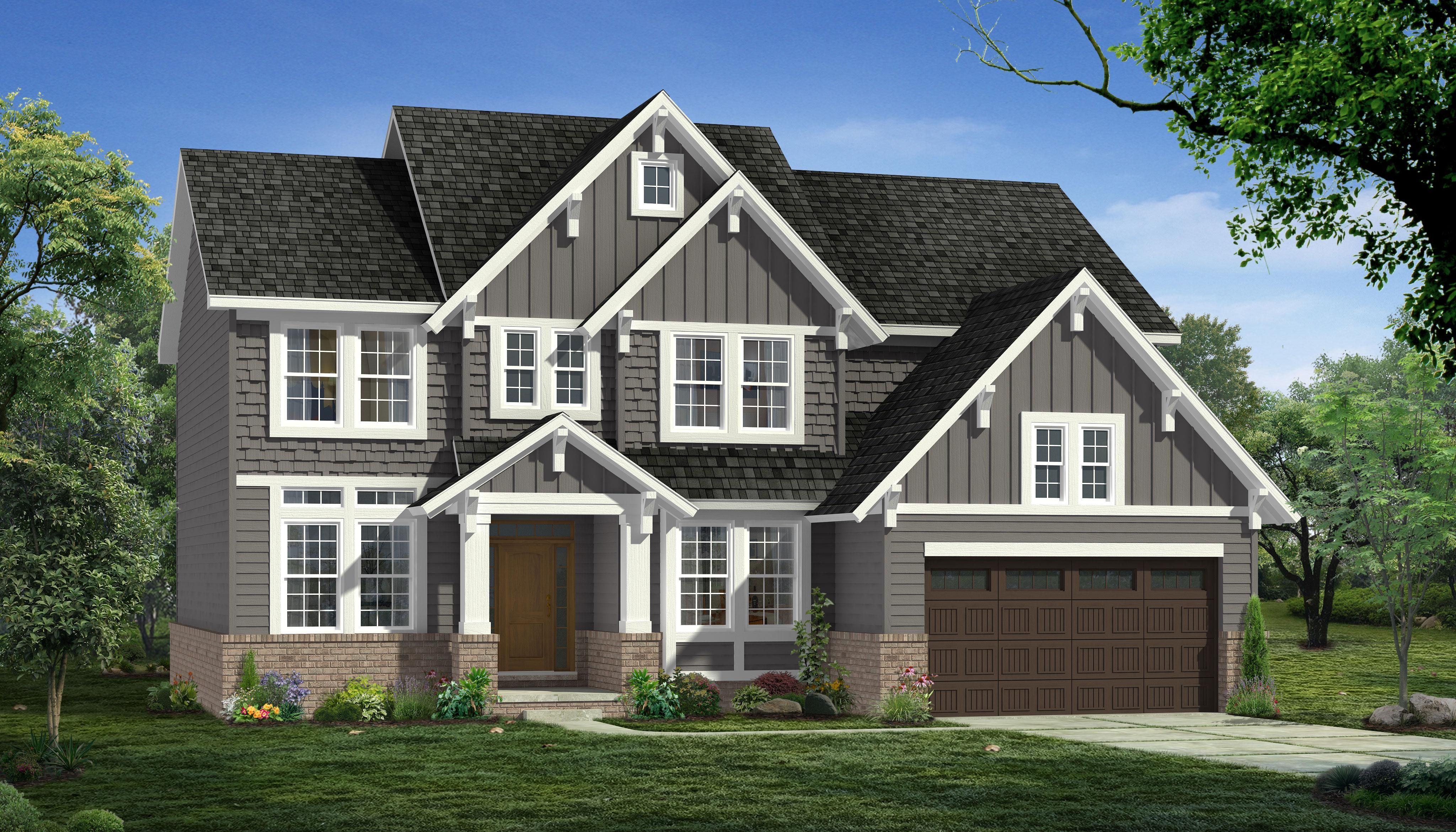 Exterior featured in the Preston By Singh Homes in Detroit, MI