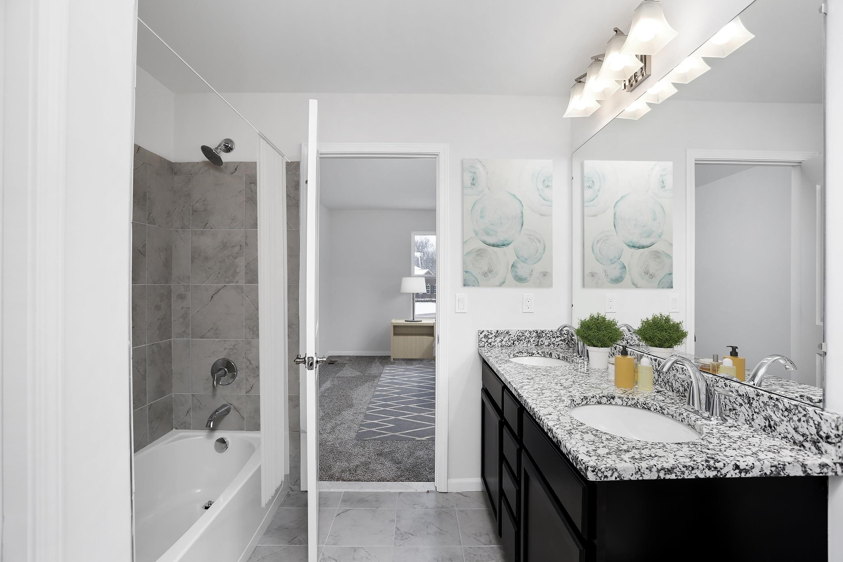 Bathroom featured in the Stirling By Singh Homes in Detroit, MI