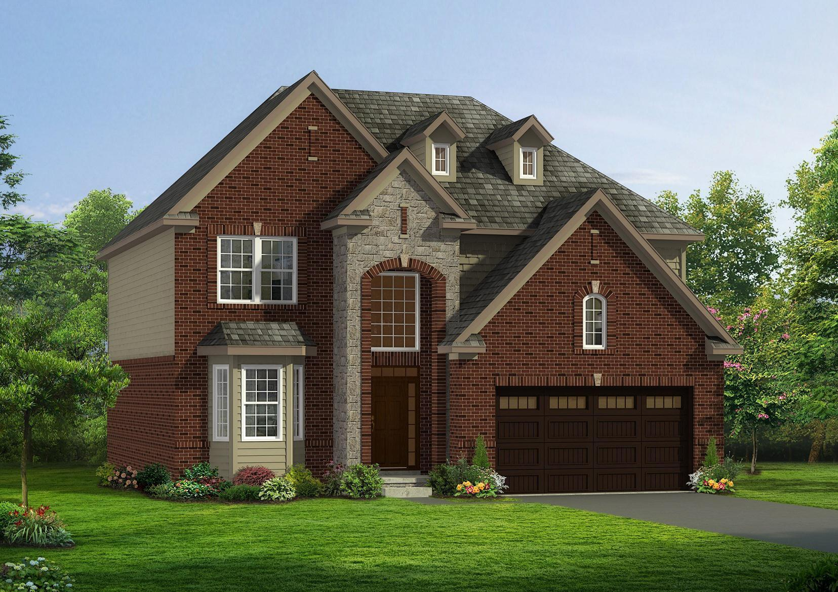 Exterior featured in the Addison By Singh Homes in Detroit, MI