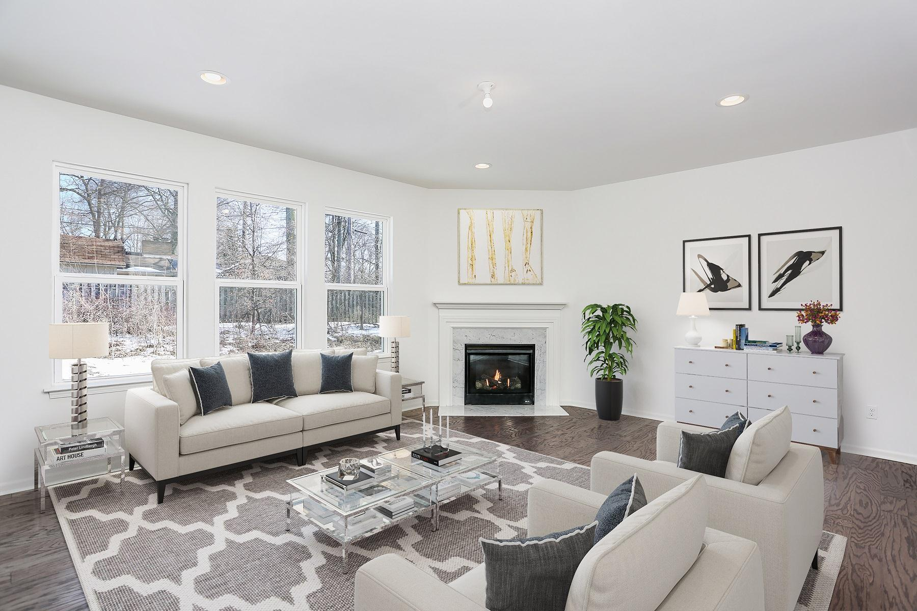 Living Area featured in the Addison By Singh Homes in Detroit, MI