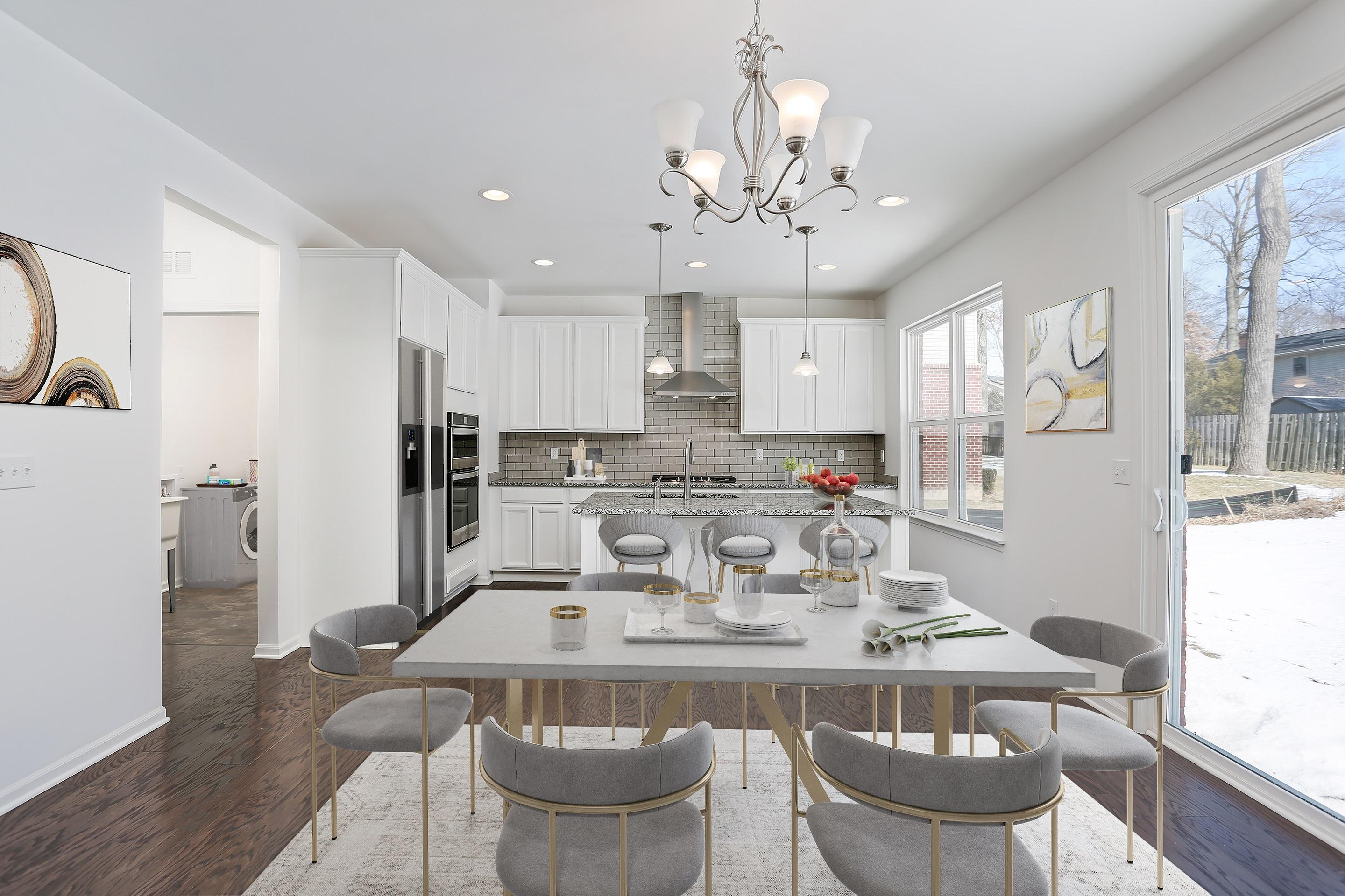 Kitchen featured in the Addison By Singh Homes in Detroit, MI