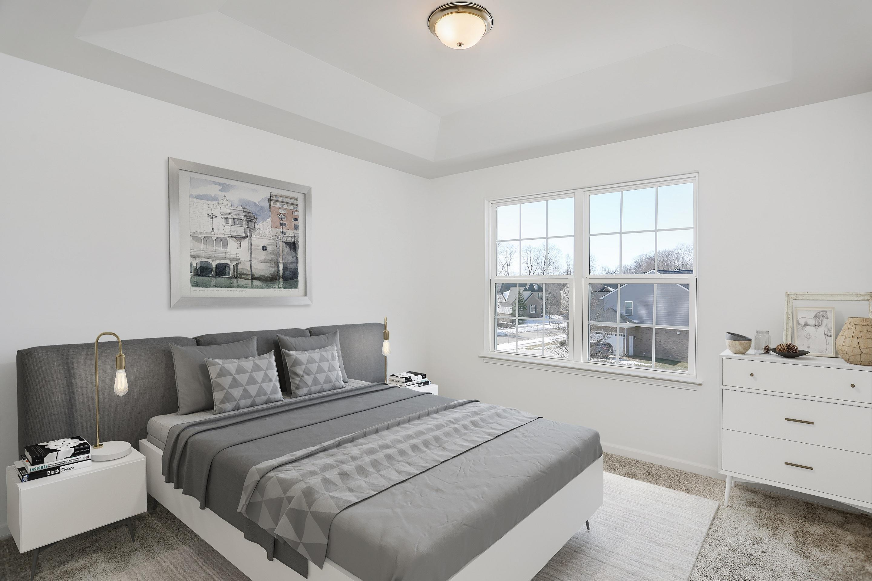 Bedroom featured in the Addison By Singh Homes in Detroit, MI