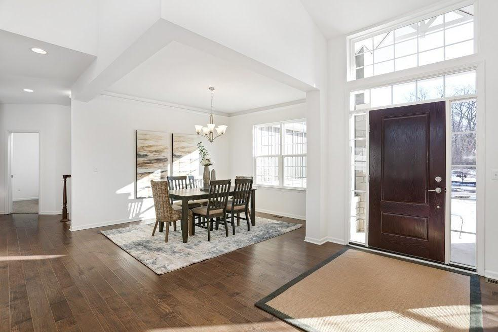 Living Area featured in the Madison By Singh Homes in Detroit, MI
