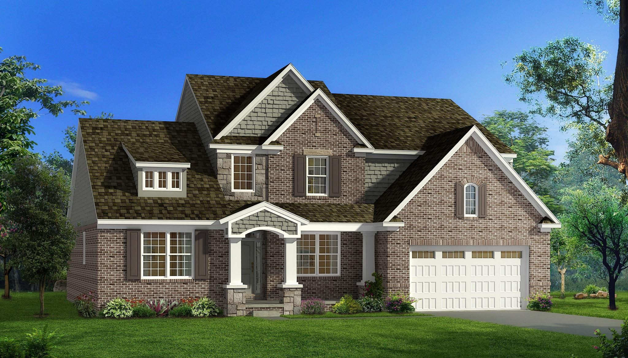 Exterior featured in the Nantucket  By Singh Homes in Detroit, MI