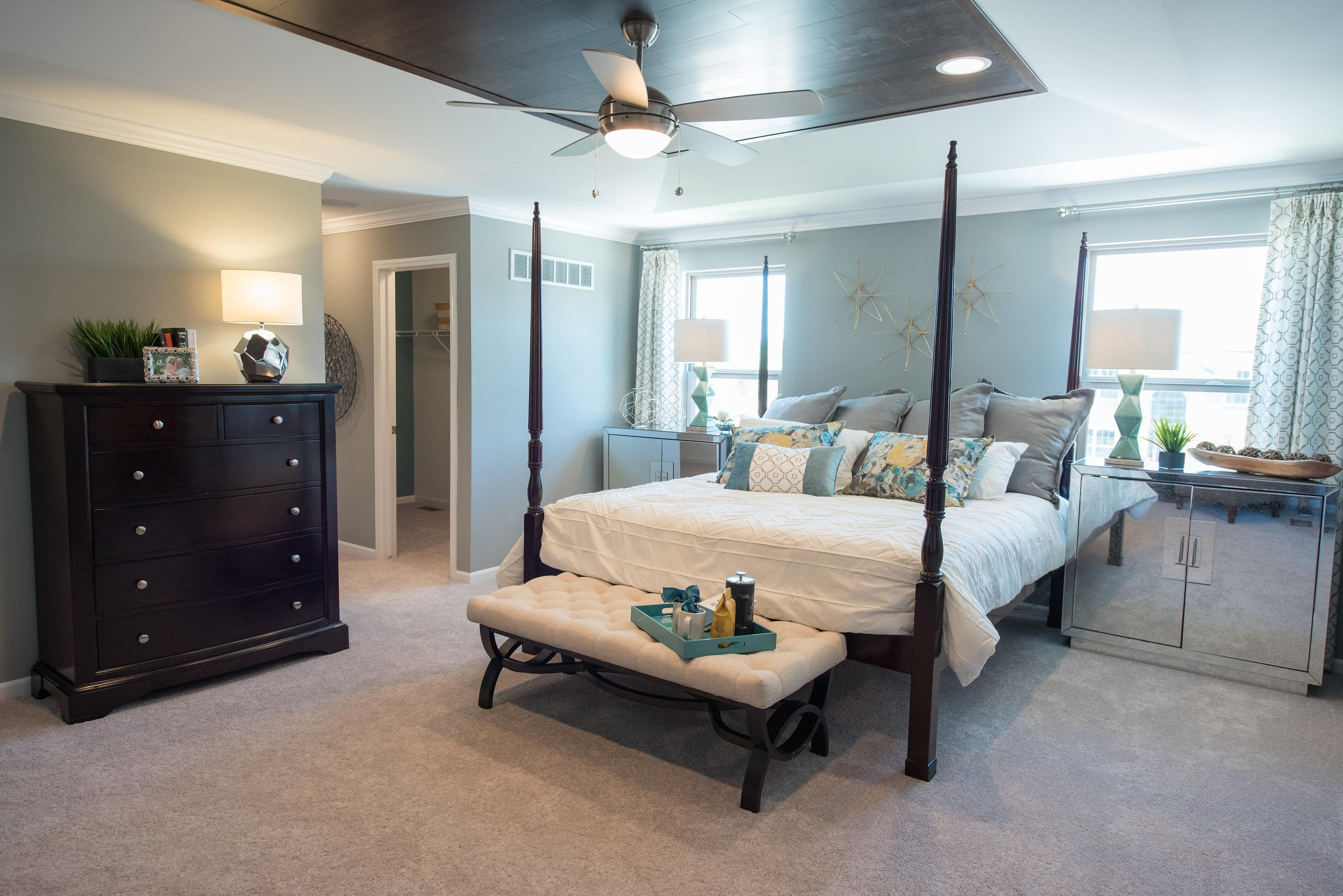Bedroom featured in the Remington By Singh Homes in Detroit, MI