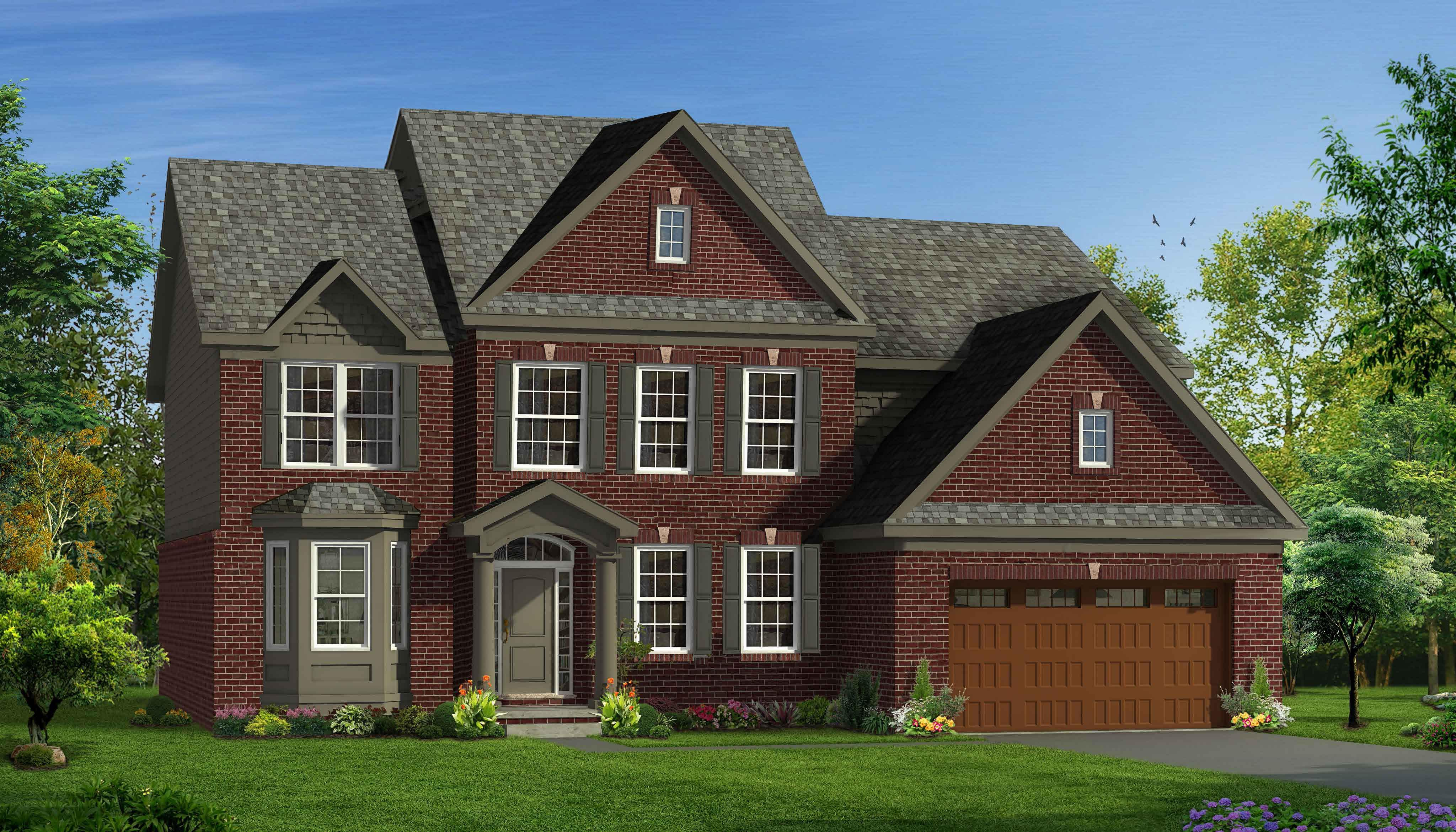 Exterior featured in the Rockport II  By Singh Homes in Detroit, MI