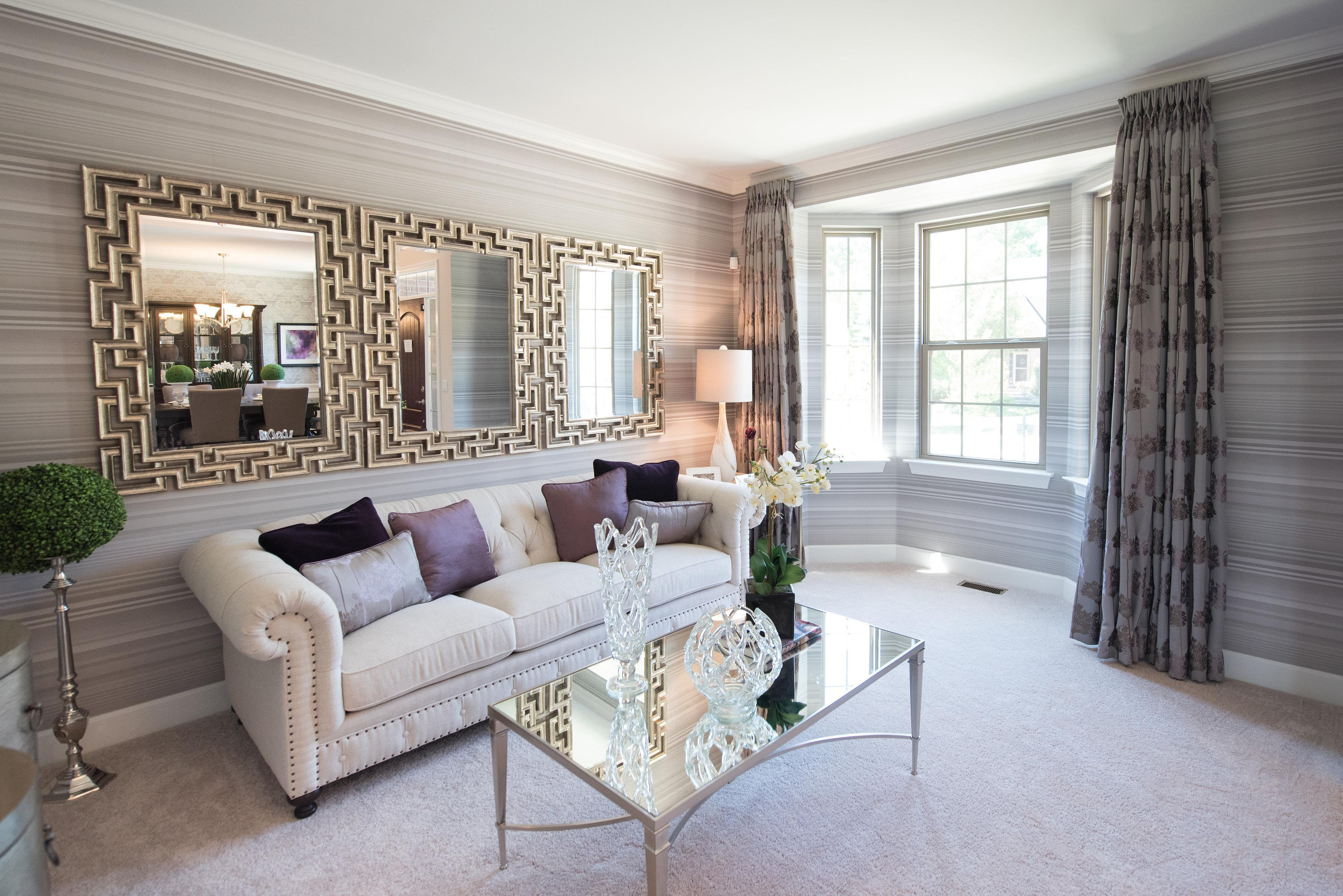 Living Area featured in the Rockport II  By Singh Homes in Detroit, MI