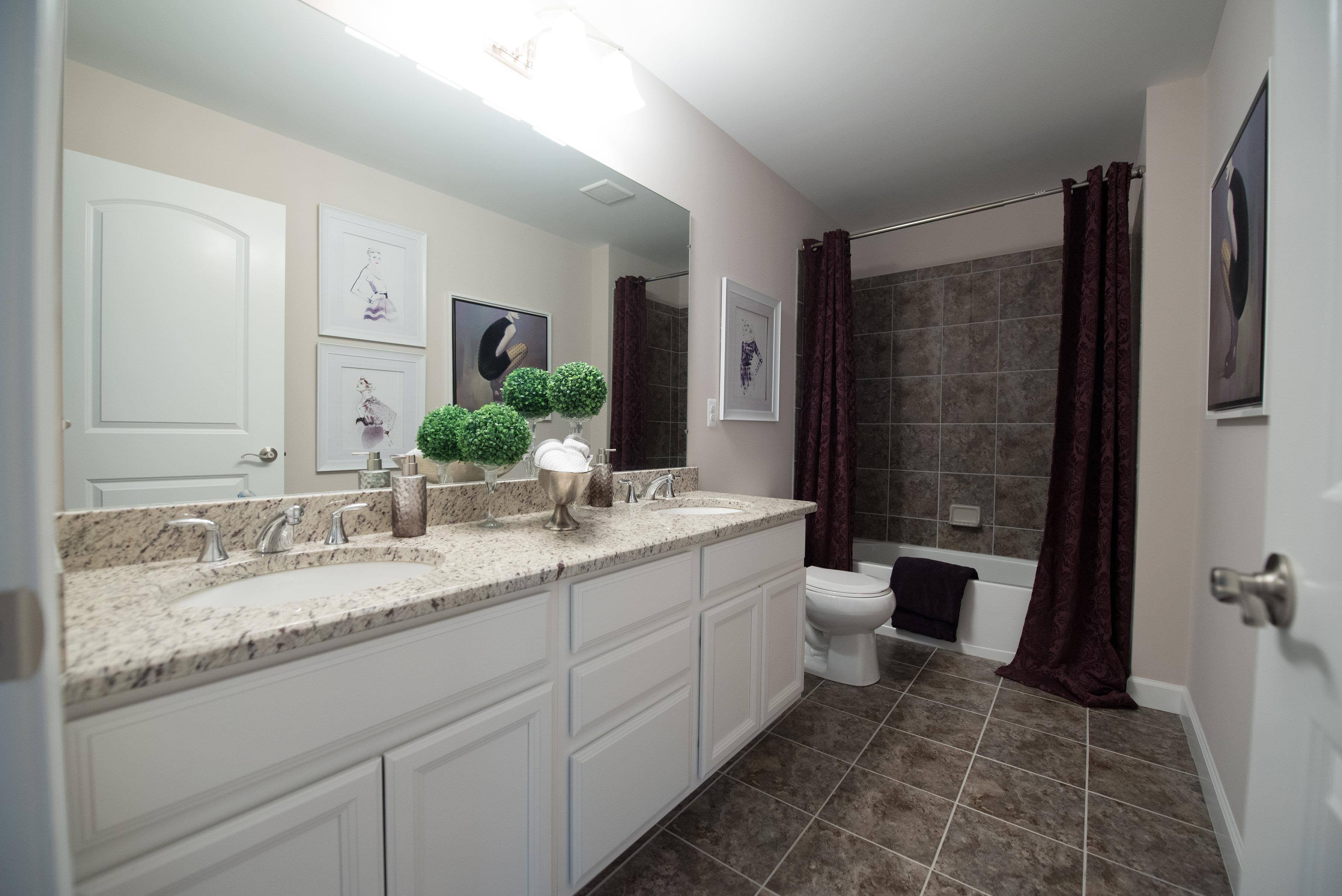Bathroom featured in the Rockport II  By Singh Homes in Detroit, MI